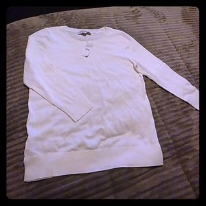 White sweater